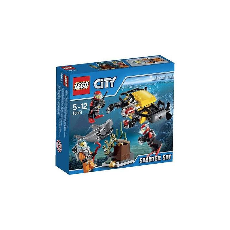 LEGO Конструктор Город Исследование морских глубин lego город исследование морских глубин номер модели 60091