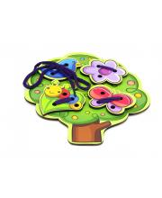 Игровой набор Шнуровка Дерево PAREMO