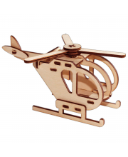 Сборная игрушка серии Я конструктор Вертолет PAREMO
