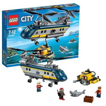 Конструктор Город Вертолет исследователей моря