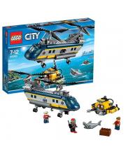 Конструктор Город Вертолет исследователей моря LEGO