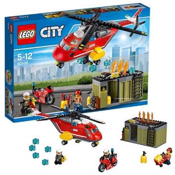 Конструктор Город Пожарная команда быстрого реагирования