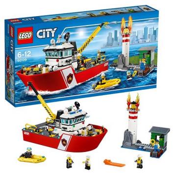 Конструктор Город Пожарный катер