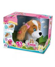 Собака Лола интерактивная на батарейках в коробке IMC Toys