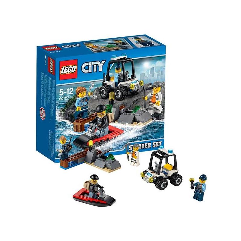 Фото LEGO Конструктор Набор для начинающих. Остров-тюрьма City 60127