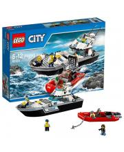 Конструктор Город Полицейский патрульный катер LEGO
