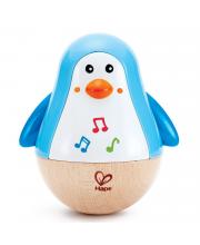 Игрушка - неваляшка Пингвин музыкальный Hape