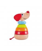 Игрушка Звуковая пирамидка Собака Hape