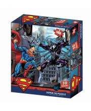 Стерео пазл Супермен против Брейниака Prime 3D
