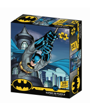 Стерео пазл Полет Бэтмана Prime 3D