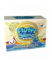 Набор для опытов фабрика флаффи слайма Банановый коктейль Инновации для детей