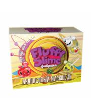 Набор для опытов фабрика флаффи слайма Ананасовый милкшейк Инновации для детей