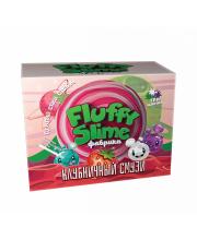 Набор для опытов фабрика флаффи слайма Клубничный смузи Инновации для детей
