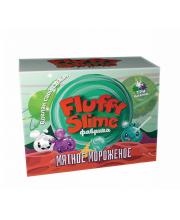 Набор для опытов фабрика флаффи слайма Мятное мороженое Инновации для детей