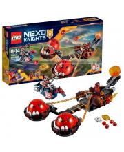 Конструктор Нексо Безумная колесница Укротителя LEGO