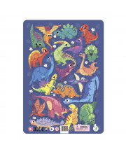 Пазл Динозавры в рамке Dodo
