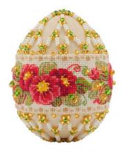 Набор для плетения из бисера Яйцо пасхальное Примула РИОЛИС