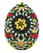 Набор для плетения из бисера Яйцо пасхальное Лужицкие мотивы РИОЛИС