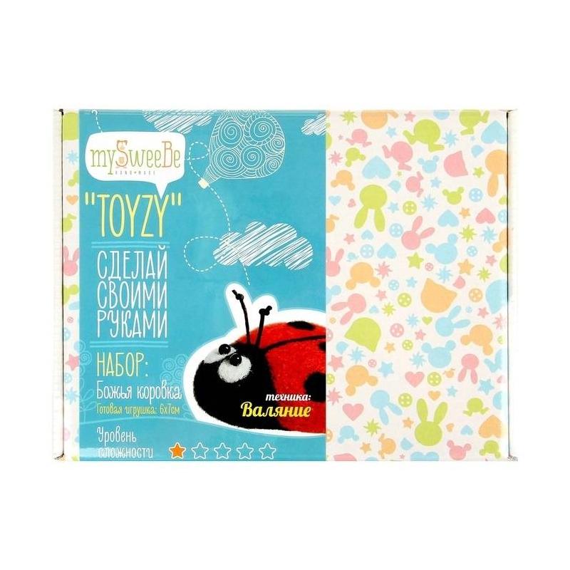 TOYZY Набор для изготовления игрушки Божья коровка феникс канцелярский набор божья коровка 7 предметов