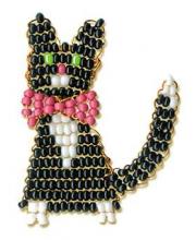 Набор для плетения из бисера Кот РИОЛИС