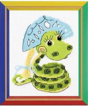 Набор для вышивания Новогодняя змейка РИОЛИС