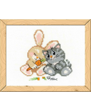 Набор для вышивания Любовь-морковь РИОЛИС