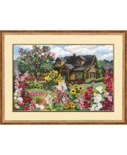Набор для вышивания Цветущий сад РИОЛИС