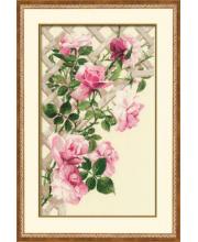 Набор для вышивания Розовые розы РИОЛИС