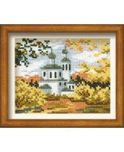 Набор для вышивания Осень в деревне РИОЛИС