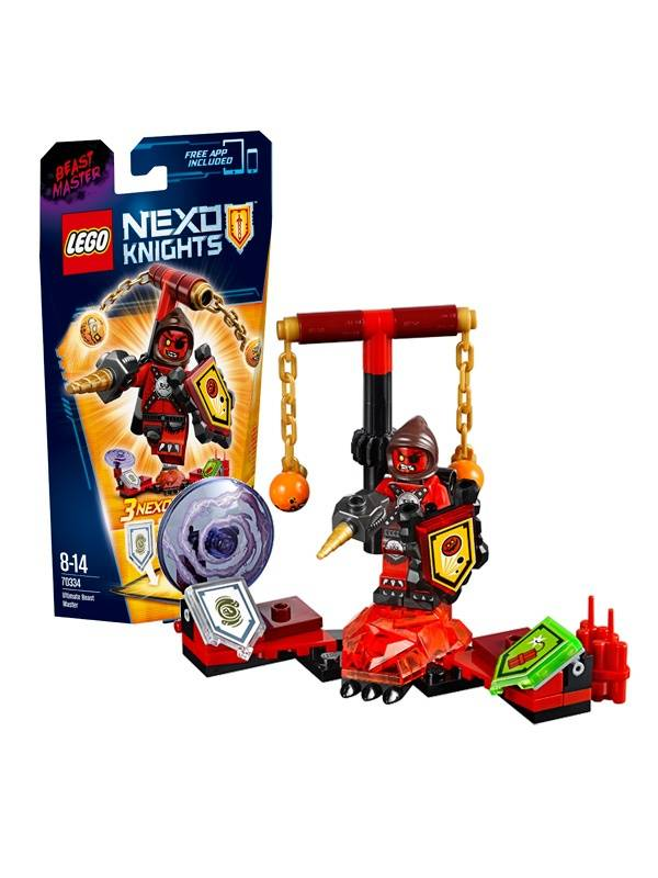 Конструктор Нексо Предводитель монстров - Абсолютная сила LEGO