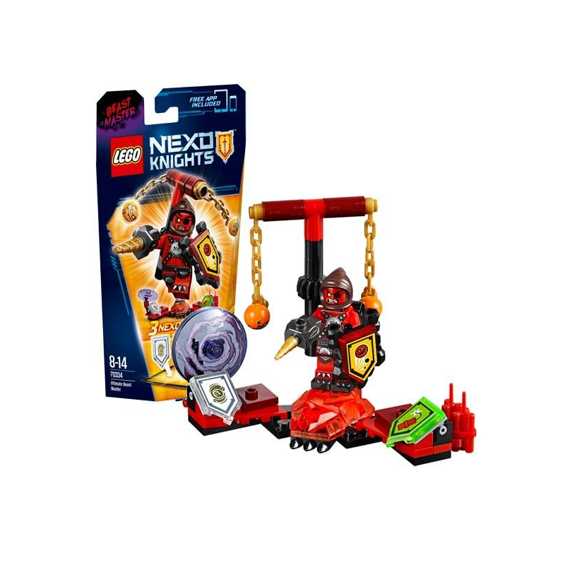 LEGO Конструктор Предводитель монстров - Абсолютная сила Nexo Knights 70334 lego lego nexo knights 70334 предводитель монстров – абсолютная сила