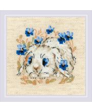 Набор для вышивания Маленький зайка РИОЛИС