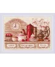 Набор для вышивания CoffeeTime РИОЛИС
