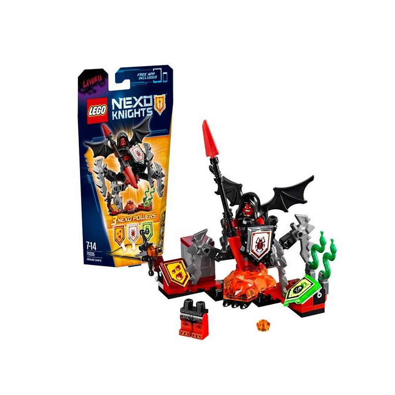 LEGO Конструктор Лавария - Абсолютная сила Nexo Knights 70335 lego lego nexo knights 70334 предводитель монстров – абсолютная сила