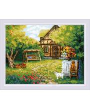Набор для вышивания Загородный домик РИОЛИС