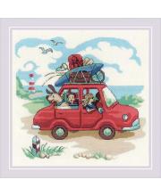 Набор для вышивания Папа купил автомобиль РИОЛИС