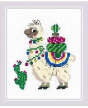 Набор для вышивания Лама РИОЛИС