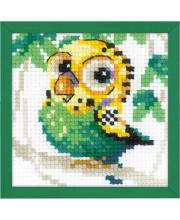 Набор для вышивания Волнистый попугайчик РИОЛИС