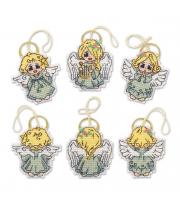 Набор для вышивания Украшения Ангелочки РИОЛИС