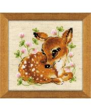 Набор для вышивания Маленький олень РИОЛИС