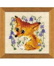 Набор для вышивания Маленький лисенок РИОЛИС