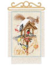 Набор для вышивания Дача Зима РИОЛИС