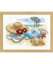 Набор для вышивания Отдых на море РИОЛИС