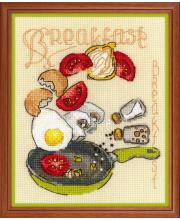 Набор для вышивания Завтрак РИОЛИС