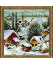 Набор для вышивания Сербское село РИОЛИС