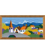 Набор для вышивания Городок в горах РИОЛИС