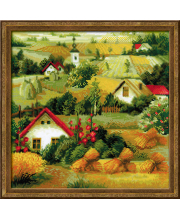 Набор для вышивания Сербский пейзаж РИОЛИС
