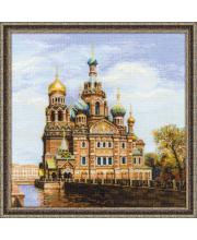 Набор для вышивания Санкт-Петербург Храм Спаса-на-Крови РИОЛИС