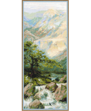 Набор для вышивания Горная река РИОЛИС