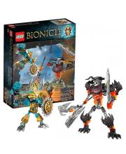 Конструктор Биониклы Создатель Масок против Стального Черепа
